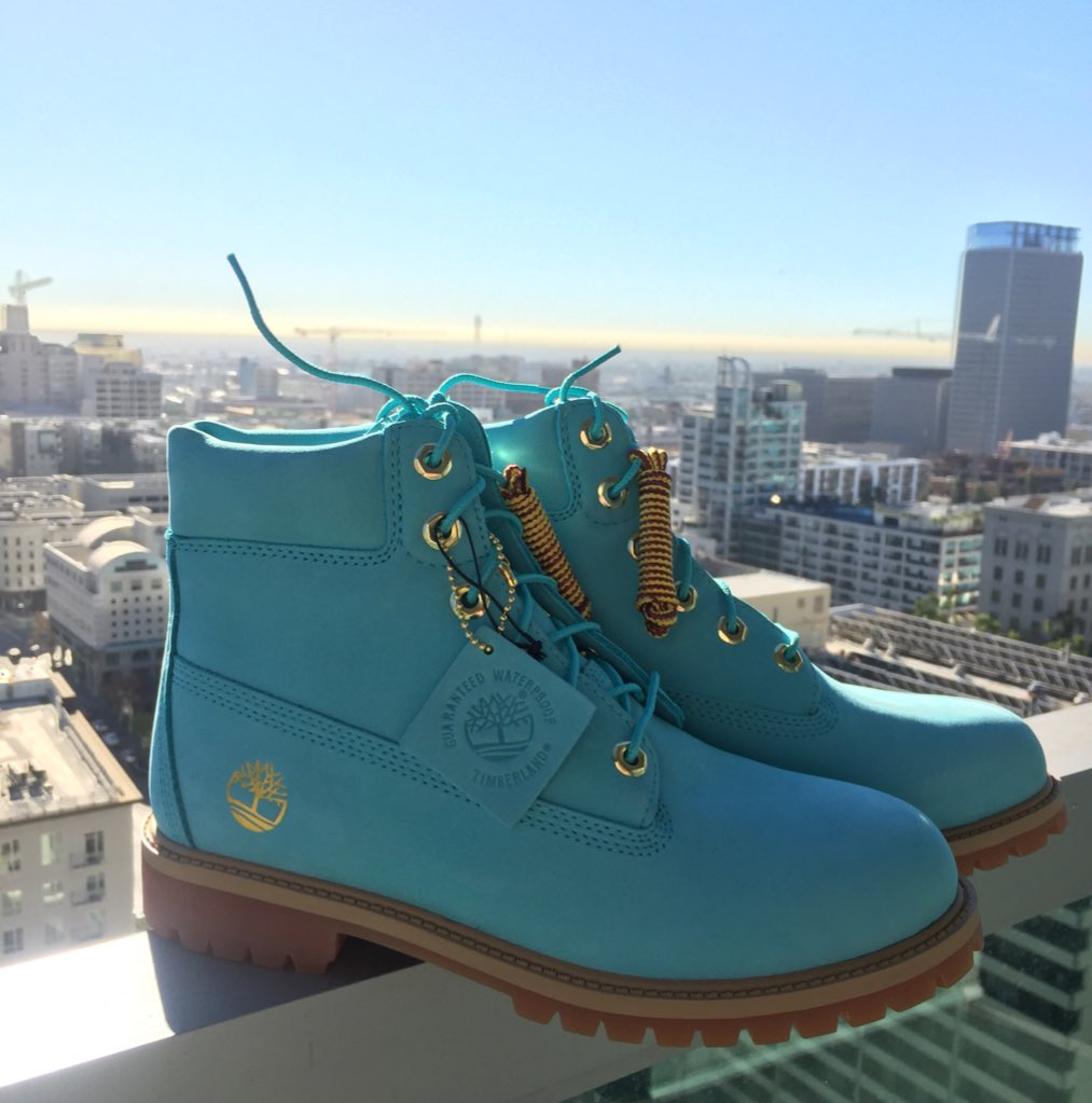 Just received the  timberland x  ruvilla  thegiftbox tiffany blue timbs  curated by  wale.  kcivilkicks 3179fac7a5a3
