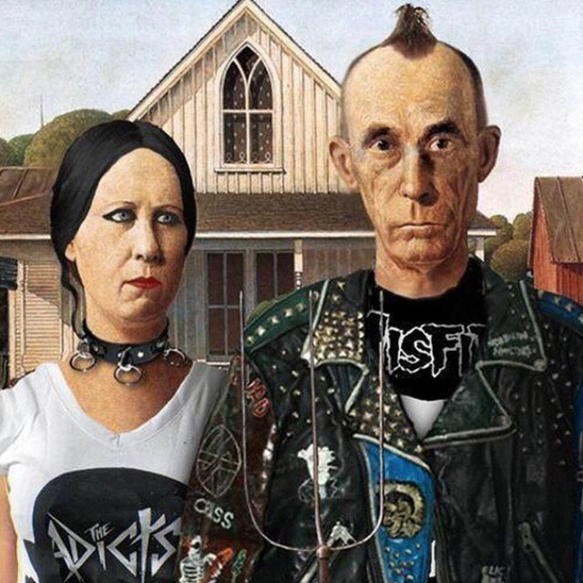 Fuck American Gothic, We like Rebel Gothic https://t.co/DfrgEtYtno