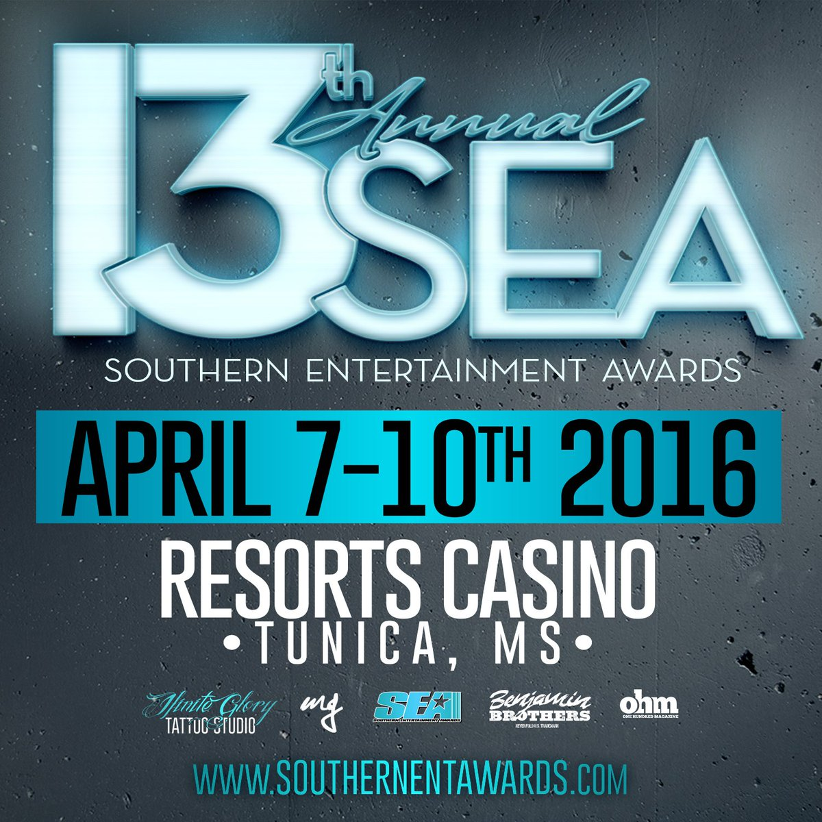 #SEA2016 Apr 7-10th #ResortsCasino #TunicaMS https://t.co/SVLFORhepn