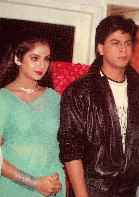 Image result for shahrukh khan divya bharti