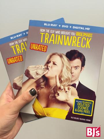 Ready, set, go! Follow and RT to #win a copy of @TrainwreckMovie. #BJsHolidays  Rules: https://t.co/PGJH4lRtdQ https://t.co/7eZx0Cagem