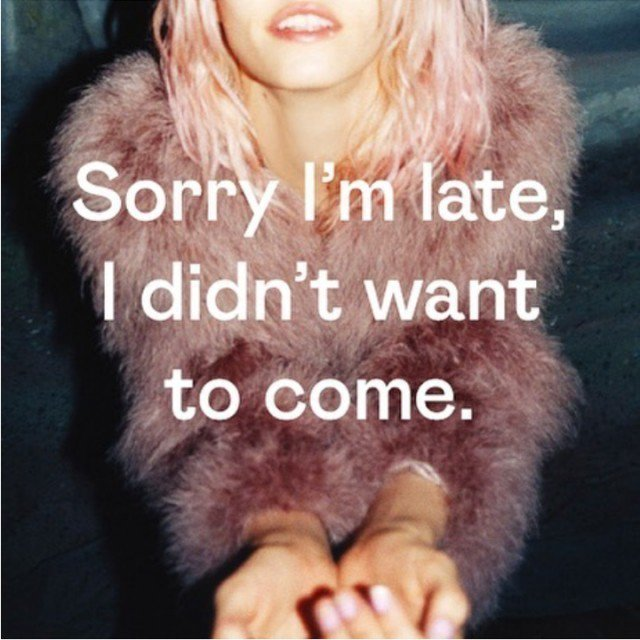 What to say whenever you're late! https://t.co/vk7bJ46bPI