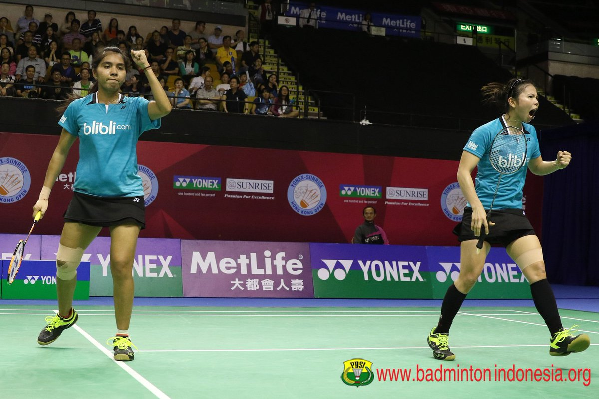 "BADMINTON INDONESIA on Twitter ""Greysia Polii Nitya Krishinda"