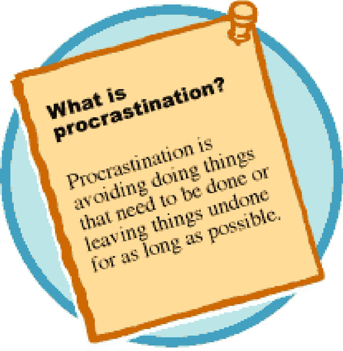 procrastination and action essay The 4 main causes of procrastination revealed 1 a fear of failure in my experience one of the most common causes of procrastination is a.