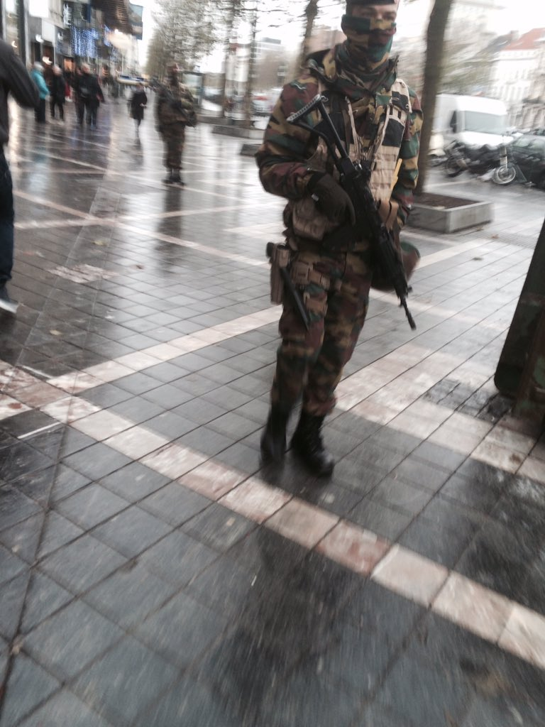 Brussels on Terror Lockdown Amid Threat of Paris-Style Attack