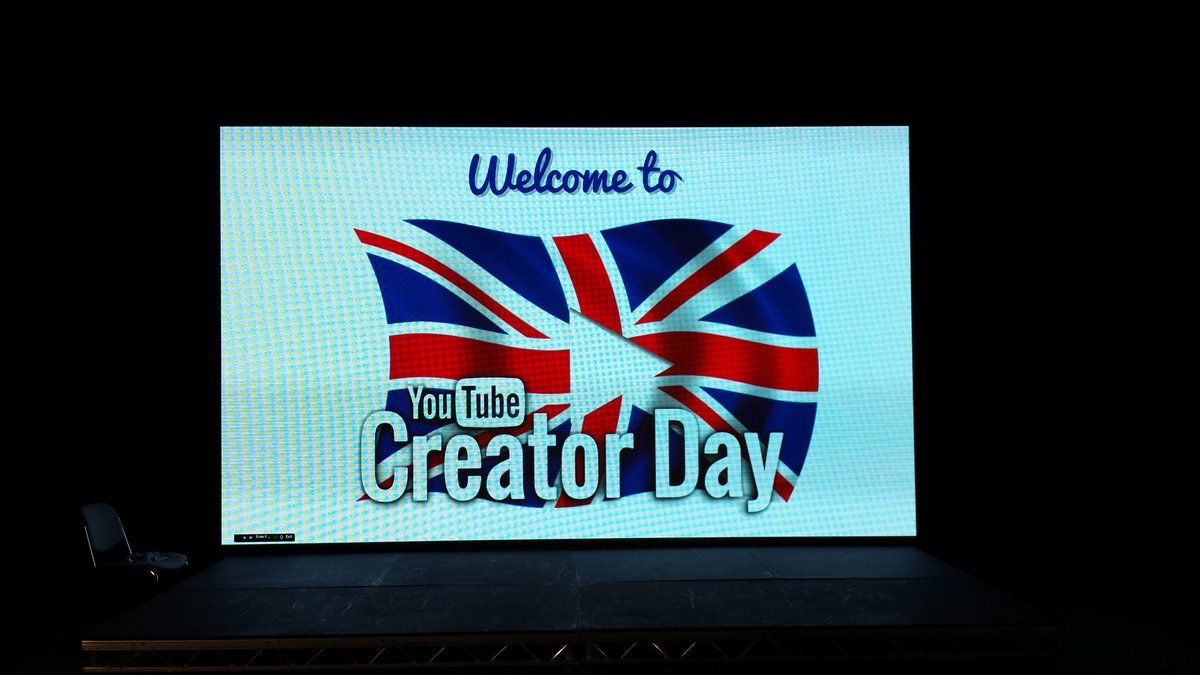 #McrCreatorDay is starting now! @YouYube @sharpproject https://t.co/K41Aogw2fz