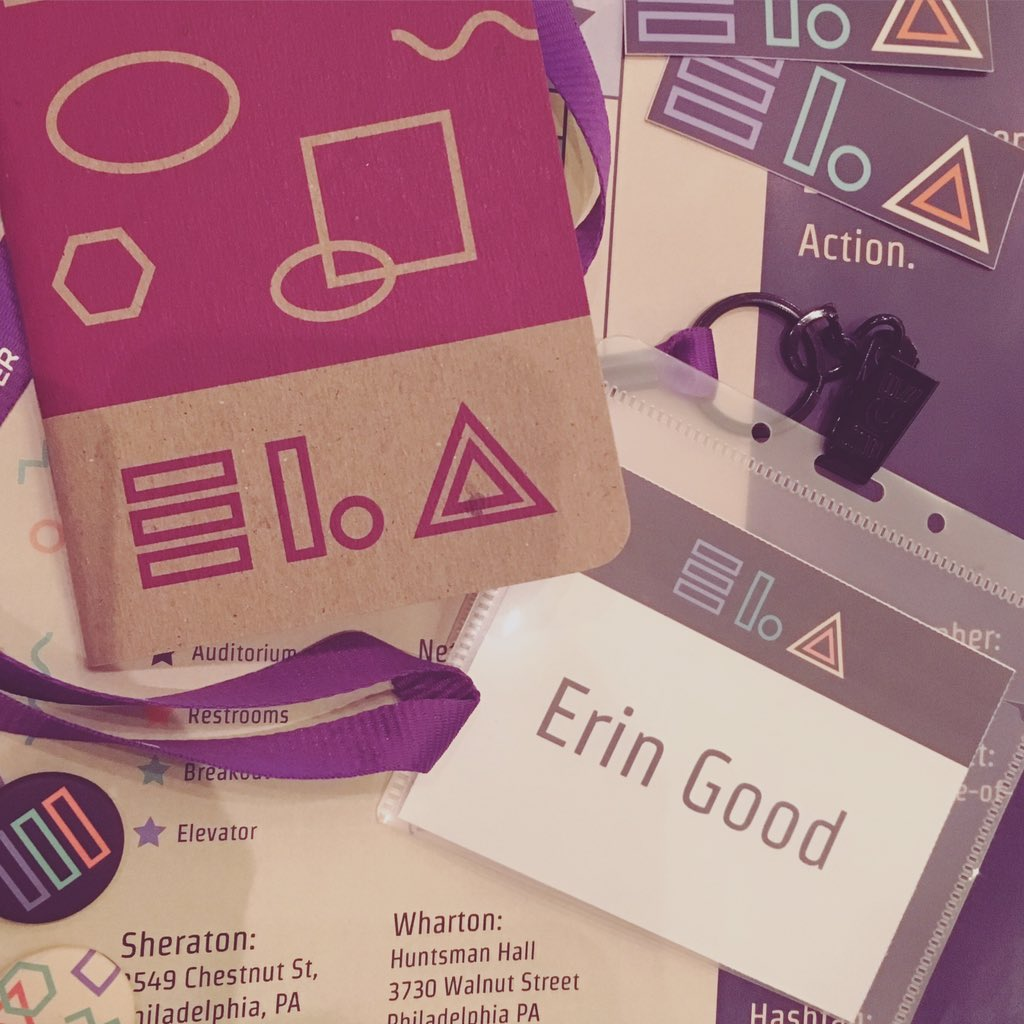 So excited to be at @elaconf! Ready to soak in some knowledge from fellow ladies in tech. #elaconf #phillytech https://t.co/WzXjOE7xrQ
