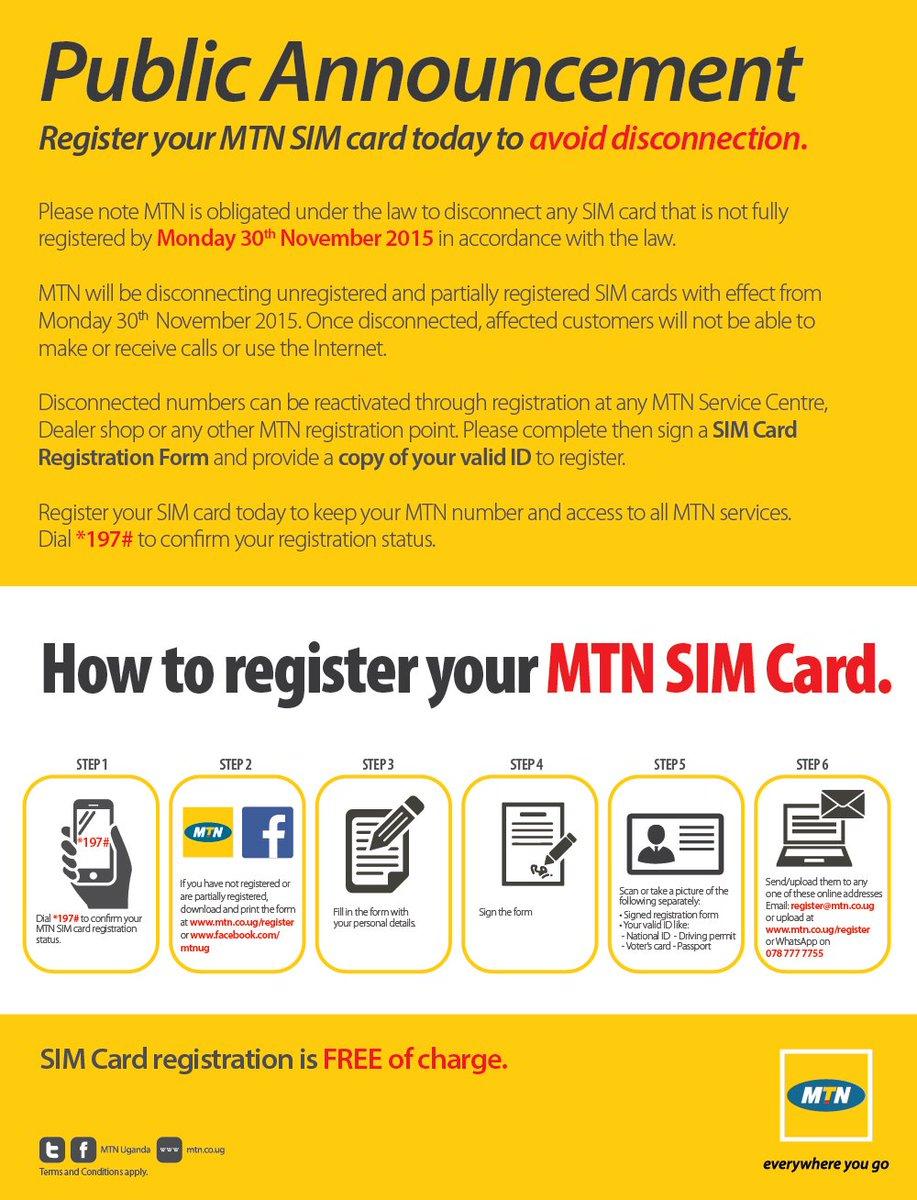 Download Sim Card Registration Form