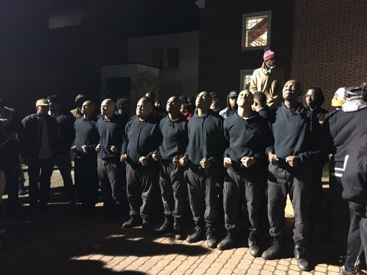 Congrats to the newest brothers of the INFAMOUS Iota Zeta Chapter of ΑΦΑ! Welcome to the yard!