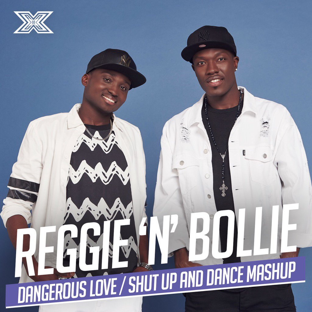 reggie and bollie shut up and dance