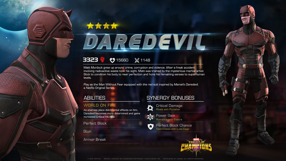 Marvel Contest Of Champions On Twitter The Defender Of Hell S Kitchen Has Arrived Https T Co 9yawi2jxwq