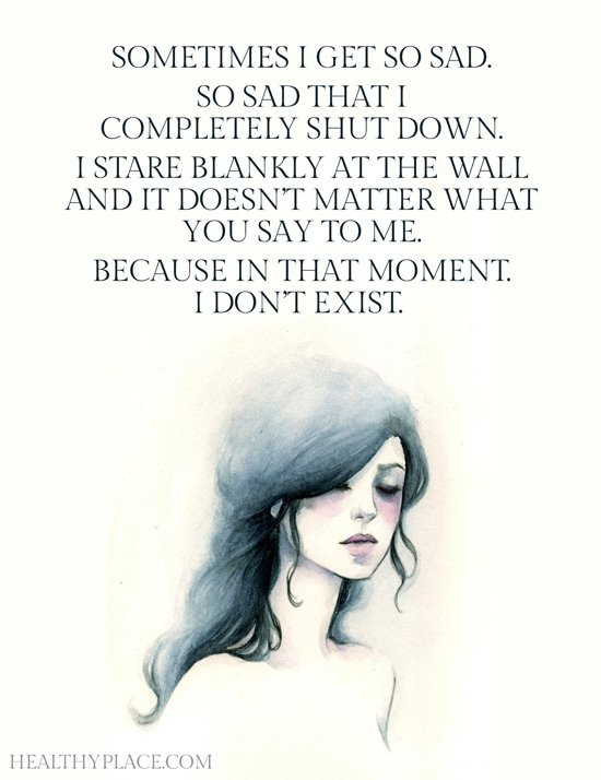 "Depression makes me feel nothing but I say I'm ""sad"" so you kind of understand. #mentalhealth #mhsm #mhchat #quotes https://t.co/XXcnMrXURr"