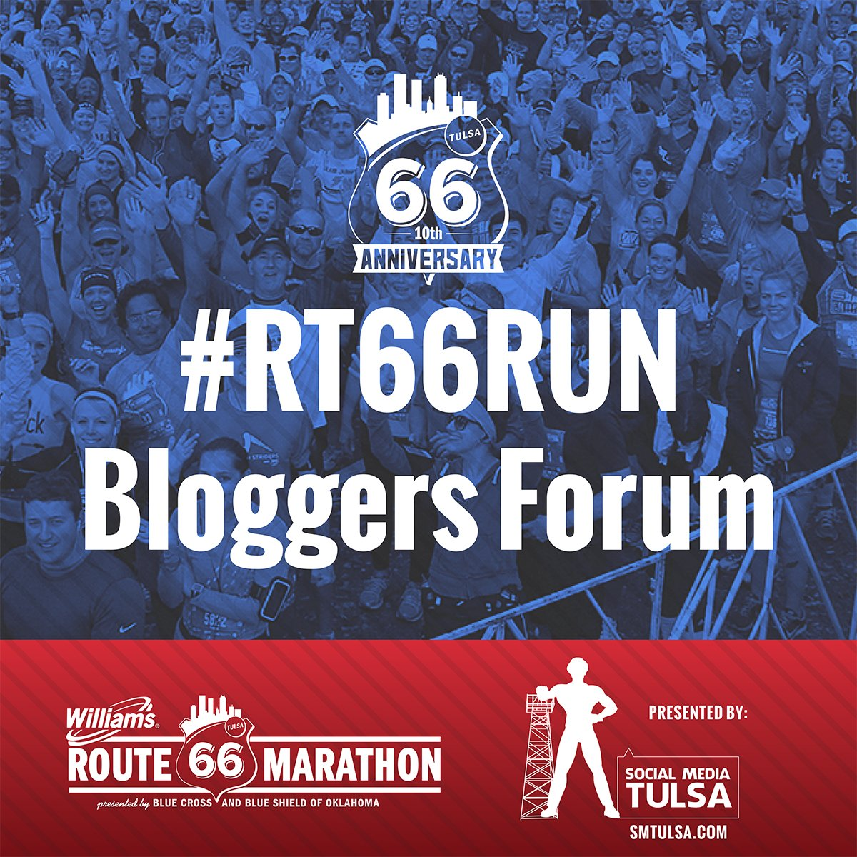 Tweet your Questions #RT66Run Bloggers Forum https://t.co/2oPnqrRKpJ sponsored by @SMTULSA #smtulsa https://t.co/roNglxGzB8