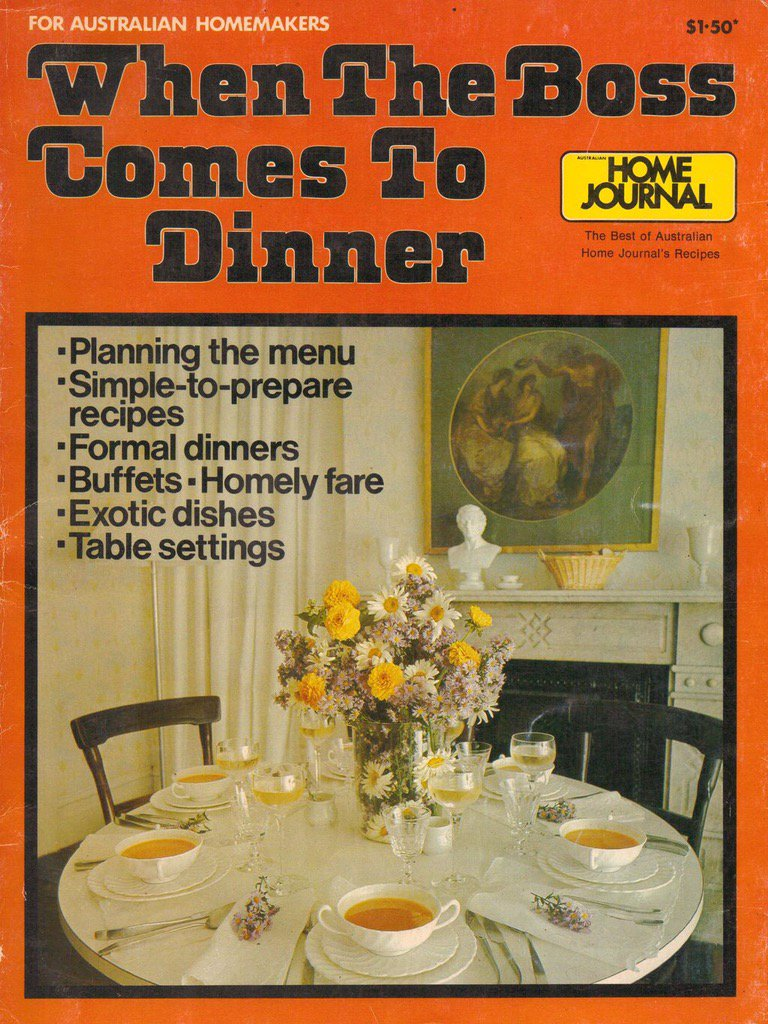 Food Photos from the 1970s