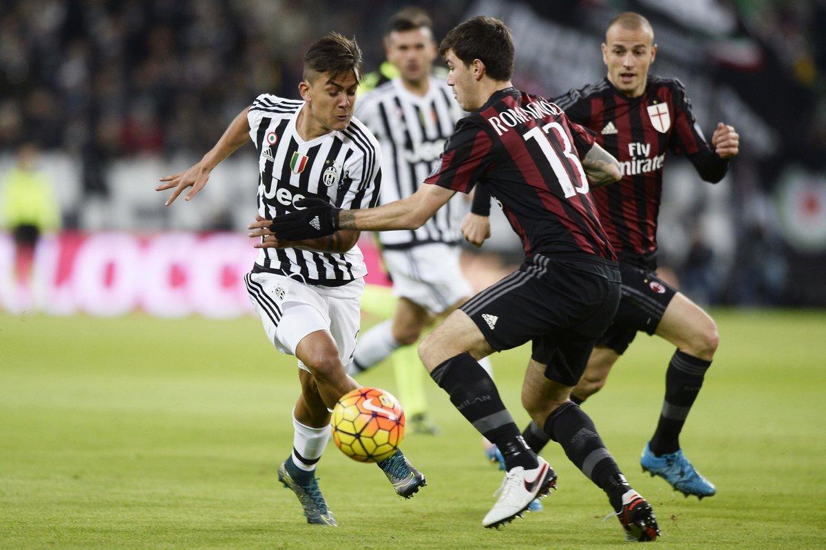 JUVENTUS-MILAN 1-0 Video: Risultato finale deciso da Dybala