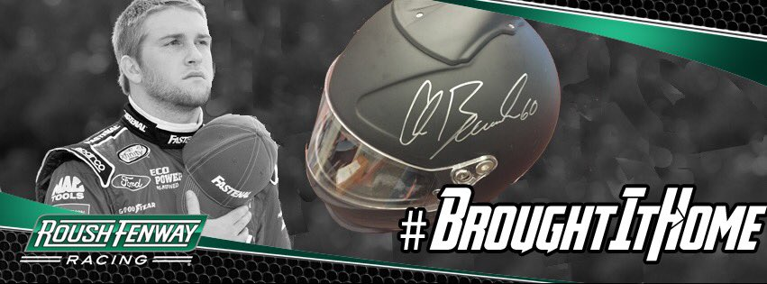 Retweet to win this helmet singed by 2015 @NASCAR_XFINITY champion @Chris_Buescher #BroughtItHome https://t.co/cY2pnDoH6y