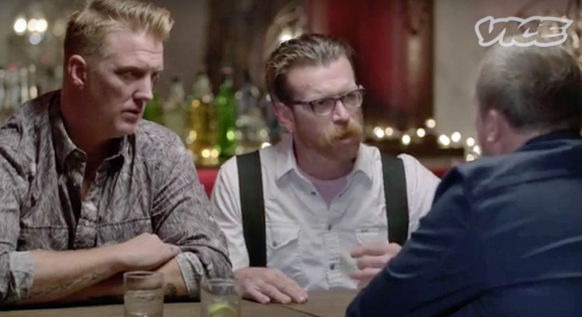 Jesse Hughes speaks for 1st time since Paris terror attacks.