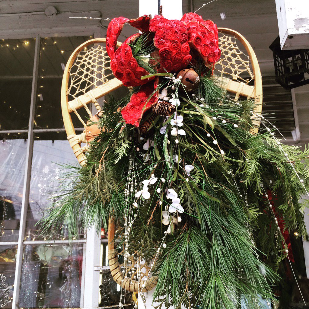 """Explorers' Edge On Twitter: """"Snowshoe Wreath At The"""