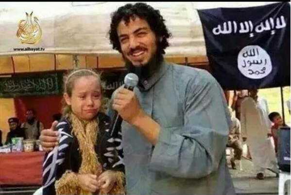 """Muslims are peaceful & tolerant & have nothing to do w/ terrorism"" ~ Hillary  This child being sold wouldn't agree https://t.co/Dvd64Bcp27"