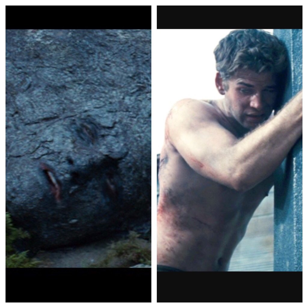 I've always supported Katniss's decisions right until she chose ol RockFacePaintyGuy over Mr. HandsomeFaceManlyPants https://t.co/J89PoEv8RY
