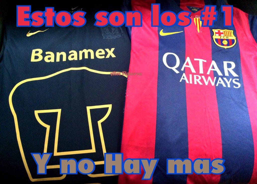 barcelona y pumas