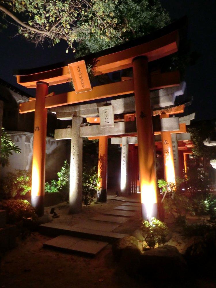 昨日の博多のお写真ぽいぽいするぞー((⊂(^ω^)⊃)) まずは櫛田神社!櫛田神社にこんなとこあるって知らなかったんだわし…今までまともにお参りしたこともなかったからね、仕方ないね。 #ゆなぽんの旅ログ番外編 https://t.co/ArA3EHGS5W