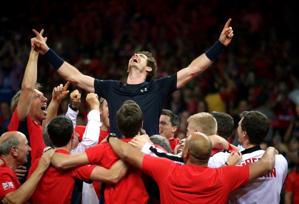First among equals #gbdaviscup @andy_murray https://t.co/JIBvINlG9E