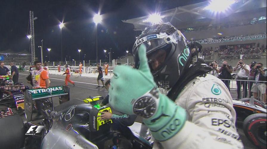 Fórmula 1 | Nico Rosberg ganó la última carrera de la temporada en Abu Dabi
