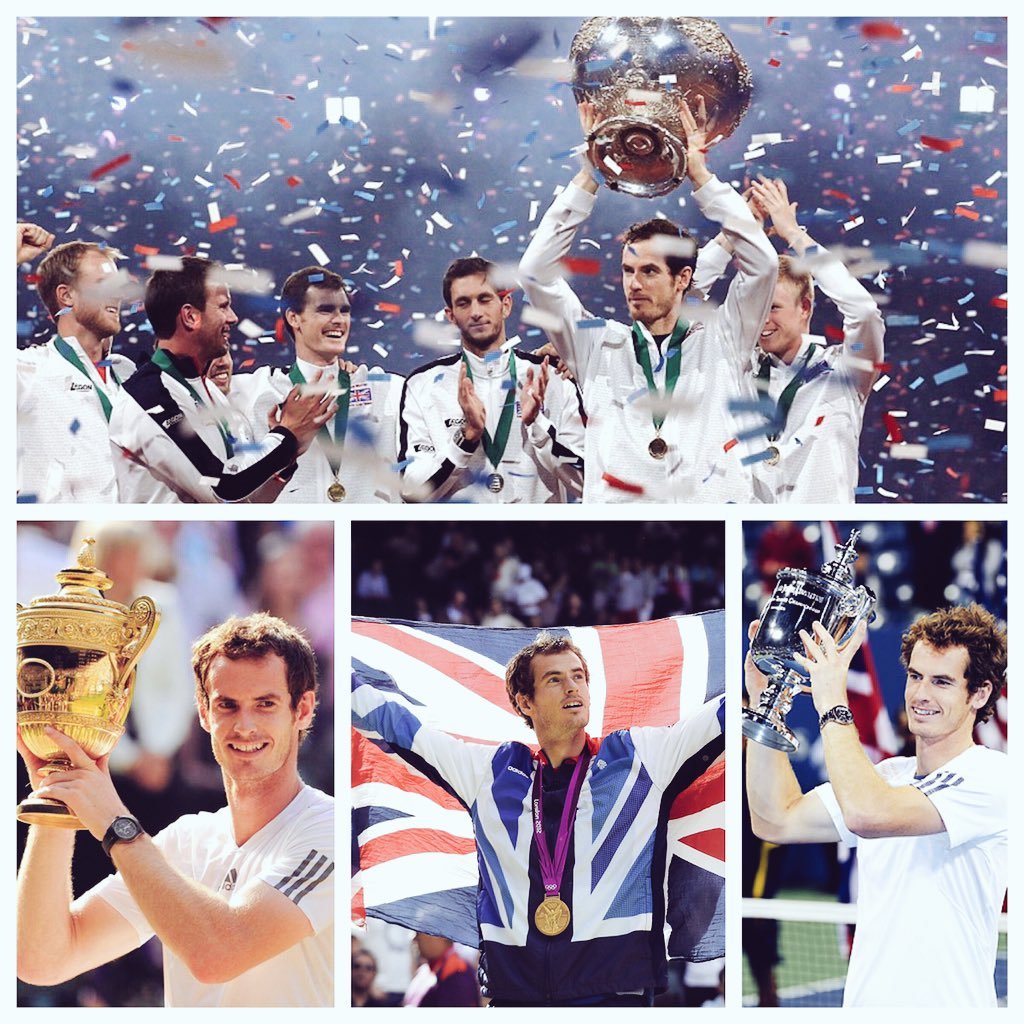 ✅Olympic Gold ✅US Open  ✅Wimbledon ✅Davis Cup  The history boy rewrites history for his country again.