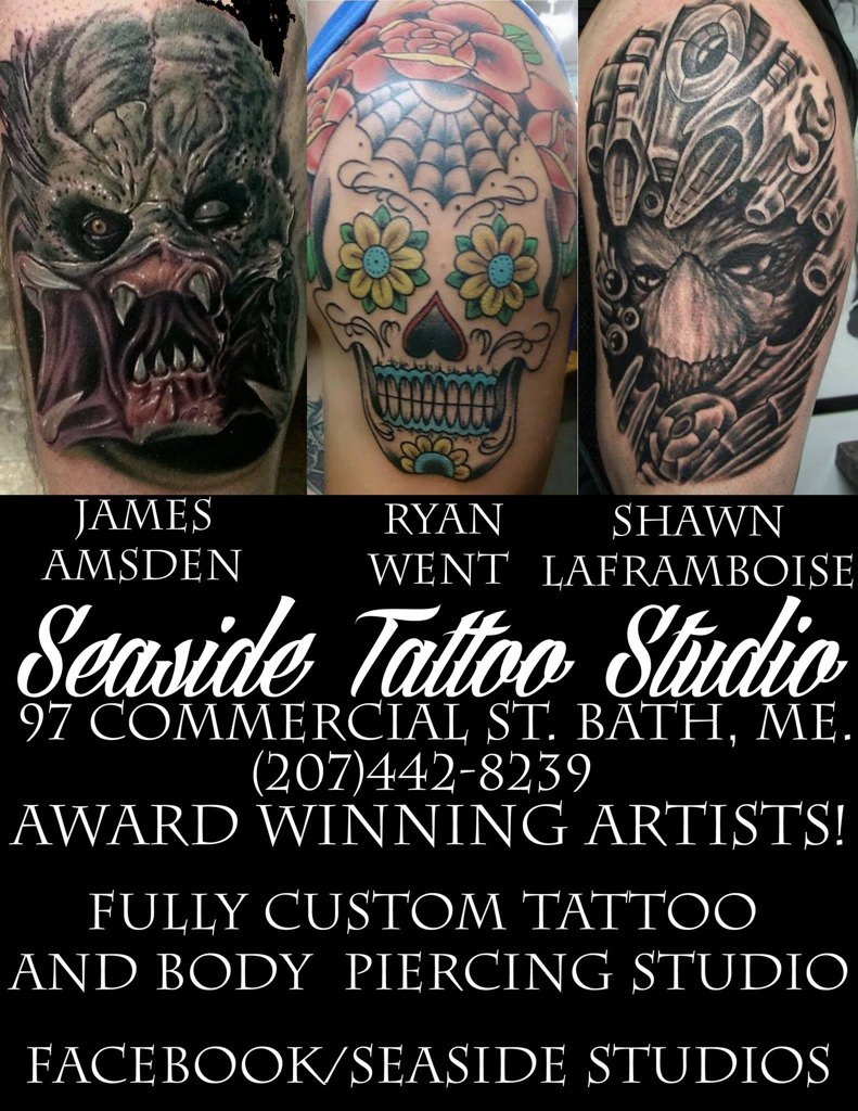 1 Katy Cat On Twitter Seaside Tattoo Studio Is Located At