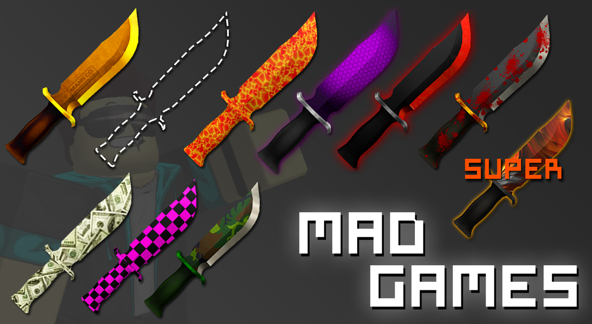 Mad Studio On Twitter Mad Games Got An Update 10 Brand New Knives