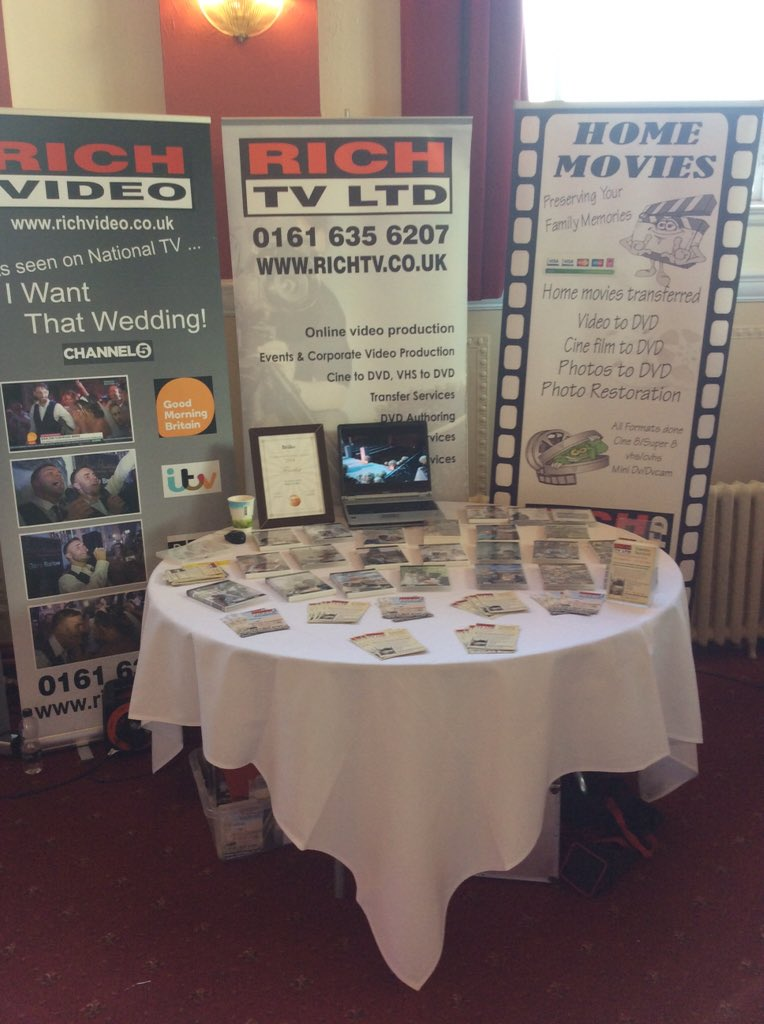 ট ইট র Rich Video Ready Set Up At Chadderton Town Hall