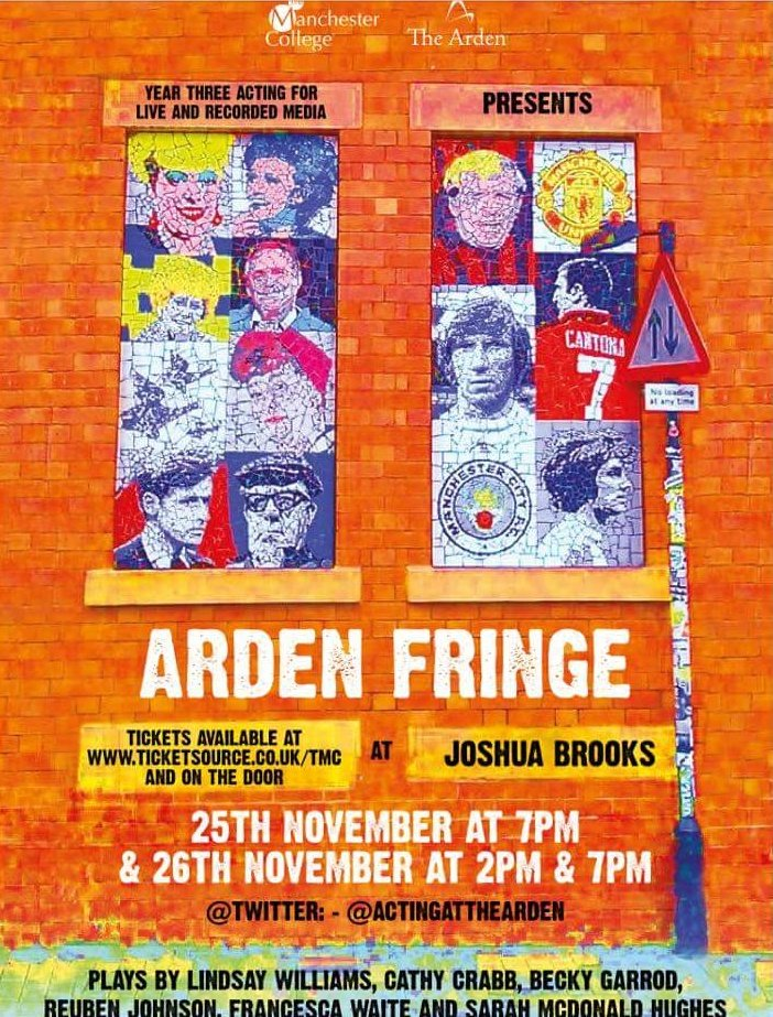 Cum check out the @TheArdenActors @ArdenFringe Ticket's r goin fast so don't b a wet lettuce & miss out. #ActorsLife https://t.co/g72dSFRIpA