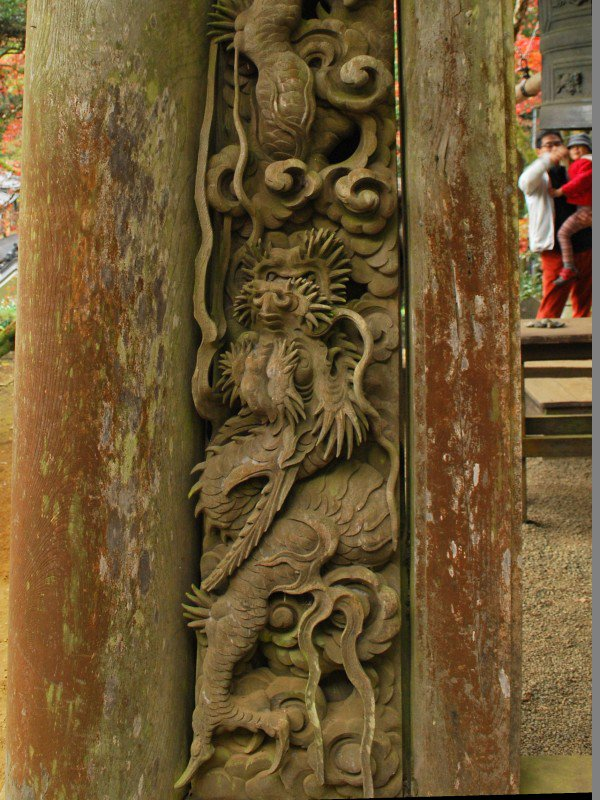 しかしお寺のテーマパークである最乗寺は紅葉がイマイチなくらいでくじけないのだ。装飾とか建築が好きならここホント楽しい https://t.co/ei0erHfSRN