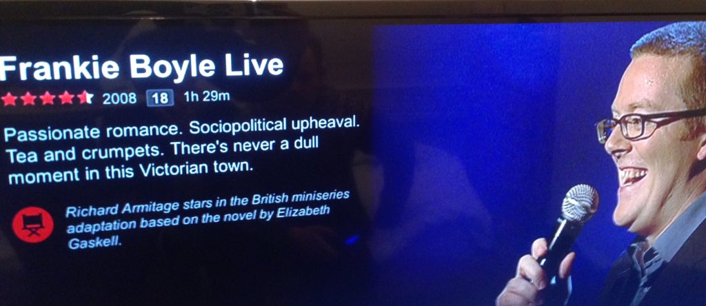 RT @funtimeforbesy: @frankieboyle I knew you had a softer side. @NetflixUK have got this synopsis spot on https://t.co/zKfWYklszI