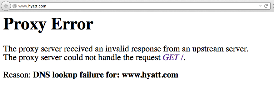Hyatt com/GP com---Website Issues - Page 80 - FlyerTalk Forums