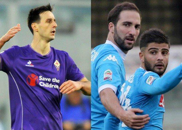 Risultati Serie A: Napoli primo in classifica, Viola recupera il derby con Kalinic, alle 20:45 Inter-Frosinone.