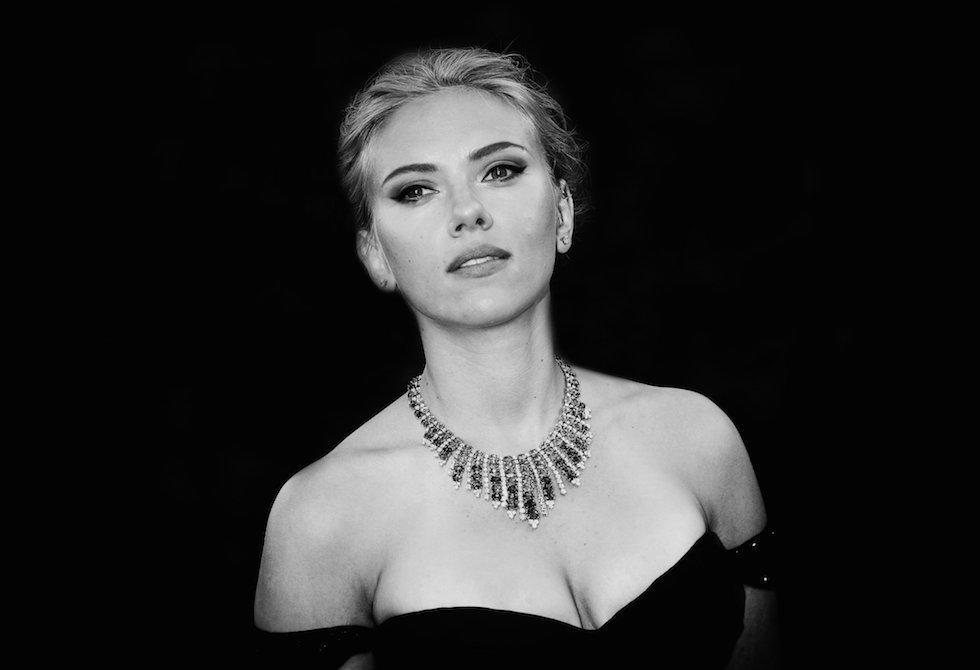 L'attrice americana Scarlett Johansson.