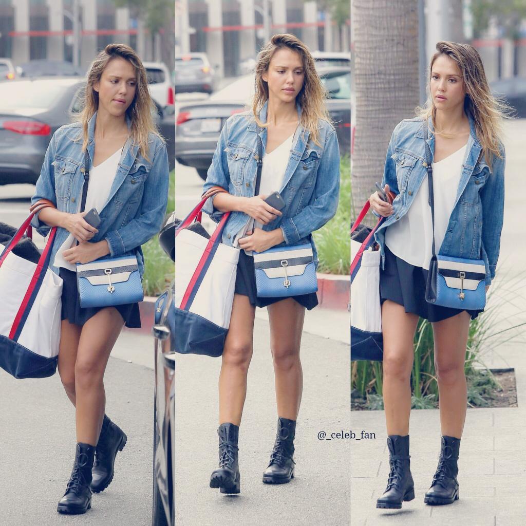 Jessica Alba, la modella e attrice americana.