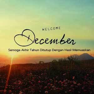 Welcome Desember Kata Kata 5