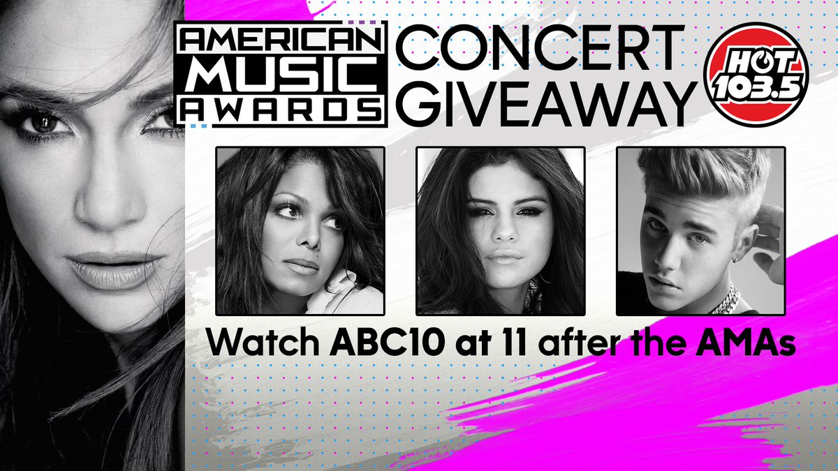 Good luck @JustinBieber on @TheAMAs performance! #ABC10 is offering fans a chance to see #JustinBieber. Please RT. https://t.co/IIZcKschTs