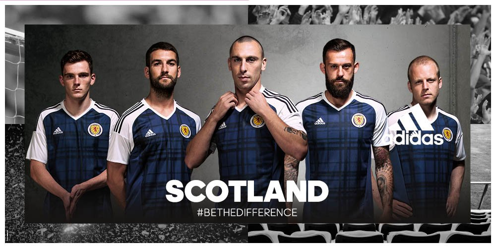 Introducing your new Scotland home kit! #BeTheDifference https://t.co/5hJY4KPJIr