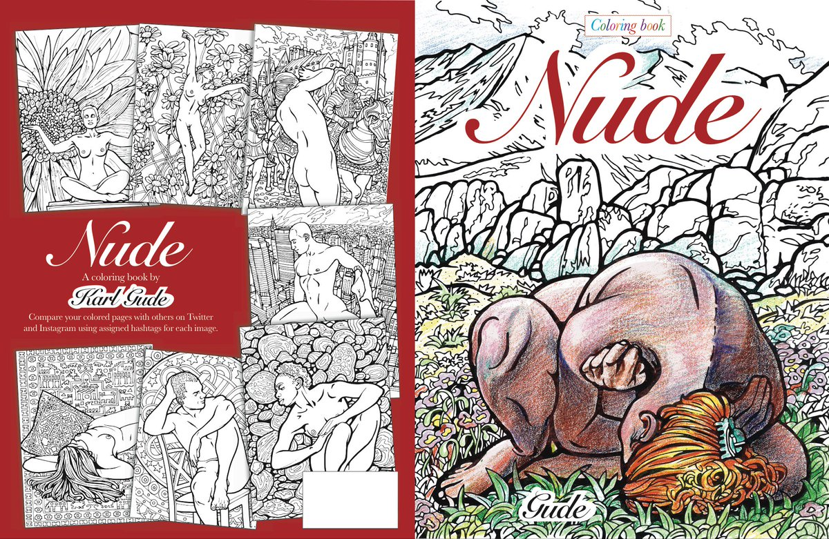 karl gude on twitter amazon will publish my nude coloringbook it will be available for the holidays hint hint link soon httpstcoi5bamthrqe - Nude Coloring Book