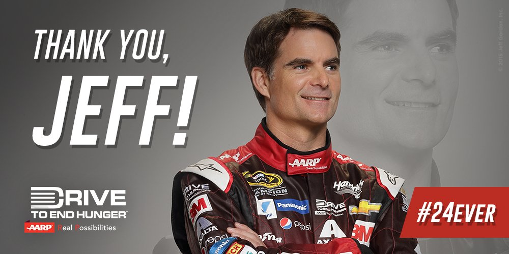 Thank you @JeffGordonWeb, for all you've done in the drive to #endhunger! You will always be our champion. #24ever https://t.co/5riLUOD0dO