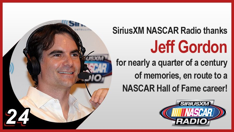 Thank you @JeffGordonWeb for all of the memories during your @NASCAR Hall of Fame career! @TeamHendrick https://t.co/pwN2UaWh0E