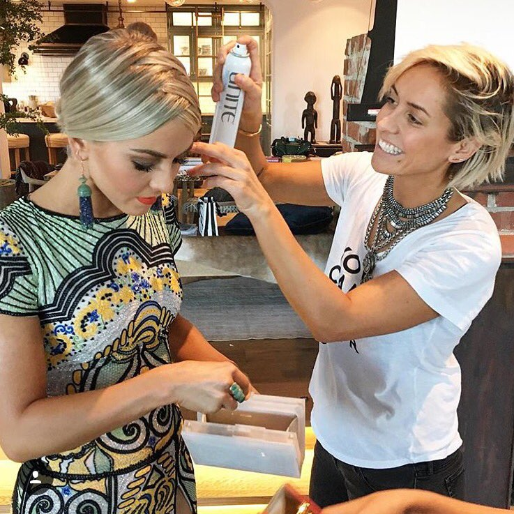 """""""X Marks the Part"""" as the super stunning @juleshough gets ready for the #AMAs!✖️✖️ Step-by-steps coming soon! https://t.co/UUQXWLlsU3"""