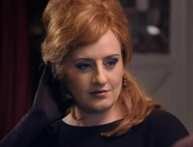 Fink Adele is beautiful but she does a good Peter Key as Geraldine. simply apply a prosthetic nose https://t.co/fNrSr6ignw