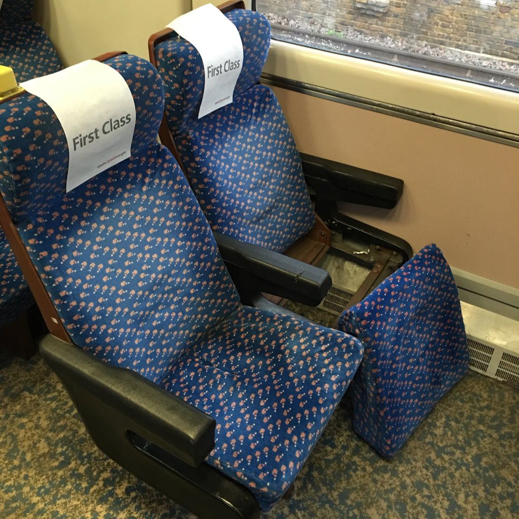 Nothing quite beats the indulgent luxury of a @greateranglia First Class compartment. https://t.co/PZQMeh1lXw