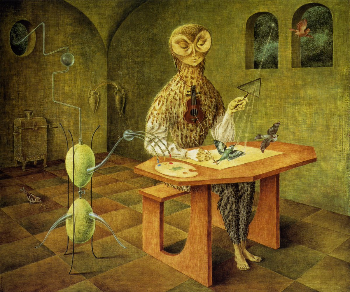 The alchemical surrealism of Remedios Varo (1908-1963): cc @Oniropolis https://t.co/NeuBOvXjRj