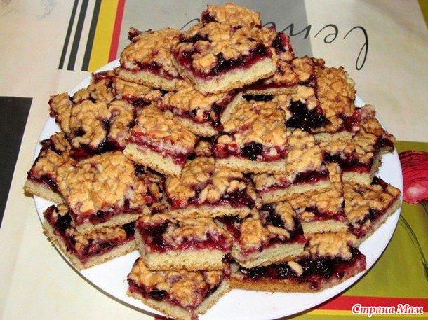 пирог каракум с вареньем рецепт с фото